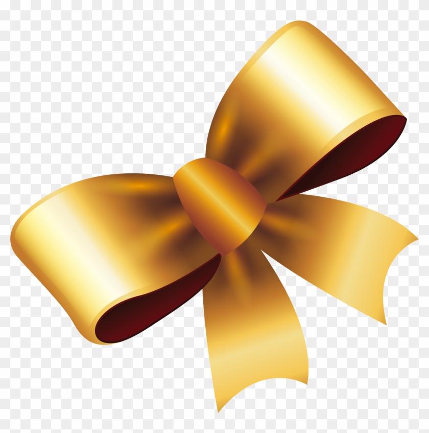 ribbon gold gift golden bow ribbon png free transparent png