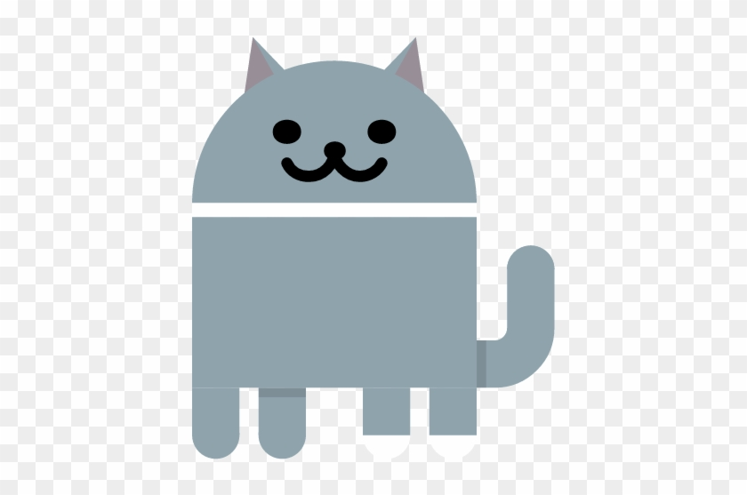Cat - Android 7 Easter Egg Cats #1201278
