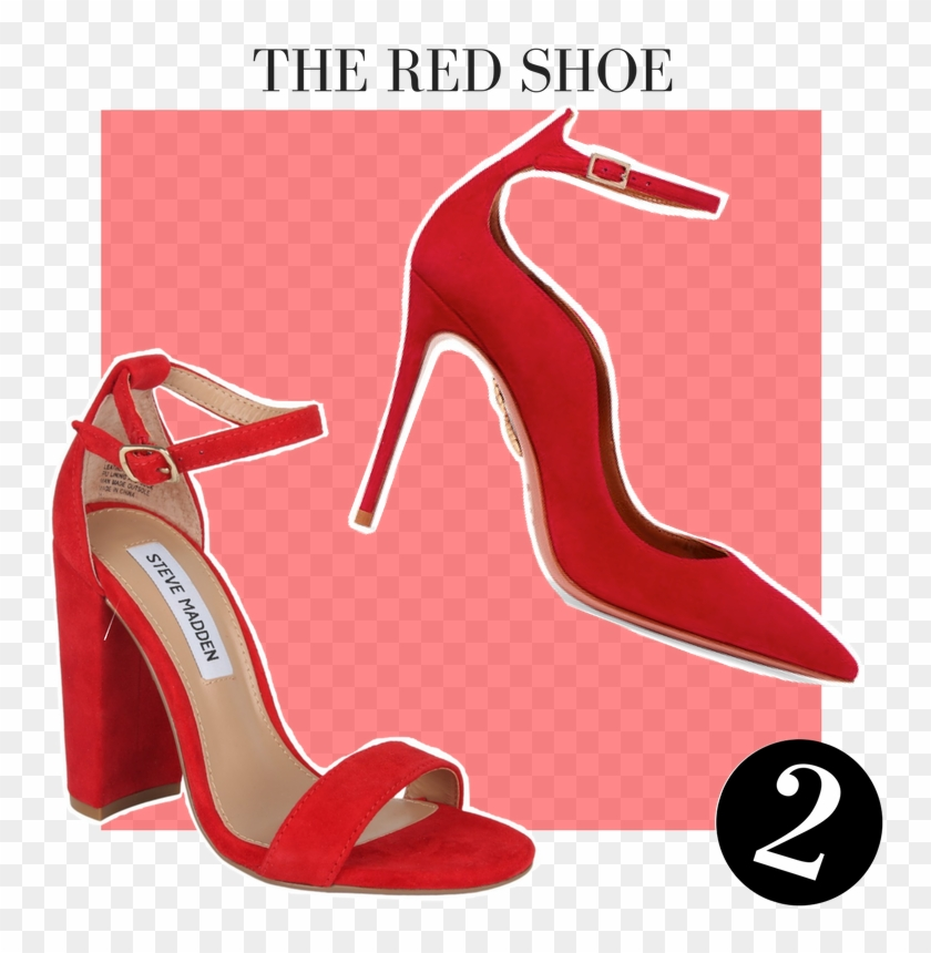 Nothing Makes Heads Turn Quite Like A Red Dress - Basic Pump #1201455