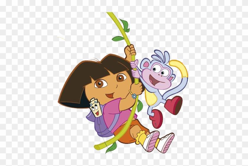 Dora5 Dora The Explorer Cartoon Characters Free Transparent Png Clipart Images Download