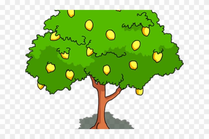 Lemon Tree Clipart - Clip Art Of Mango Tree #1202112