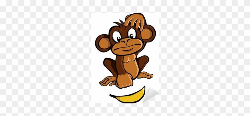 Monkey Scratching Head Animated #1203241