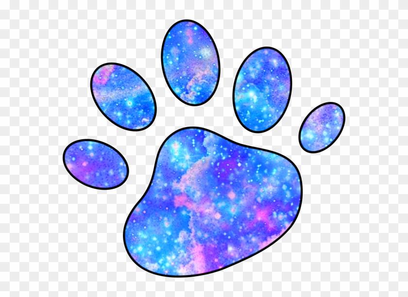 Galaxy Paws Pawprint Dog Cat Cute - Cat #1203284