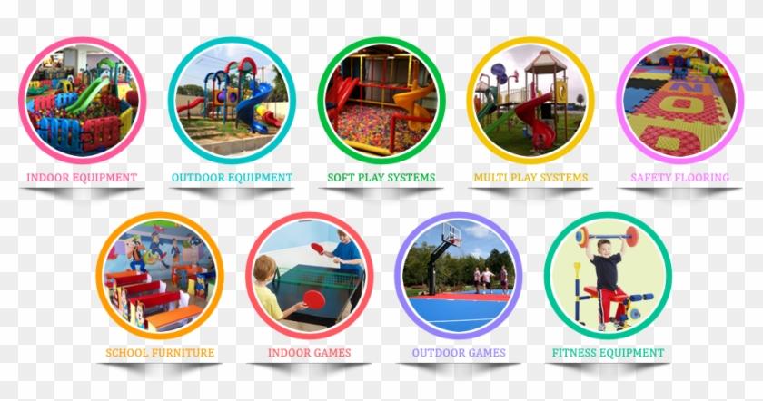 Children's Play Area Equipment India Bangalore - Kids Fitness Equipment #1203639
