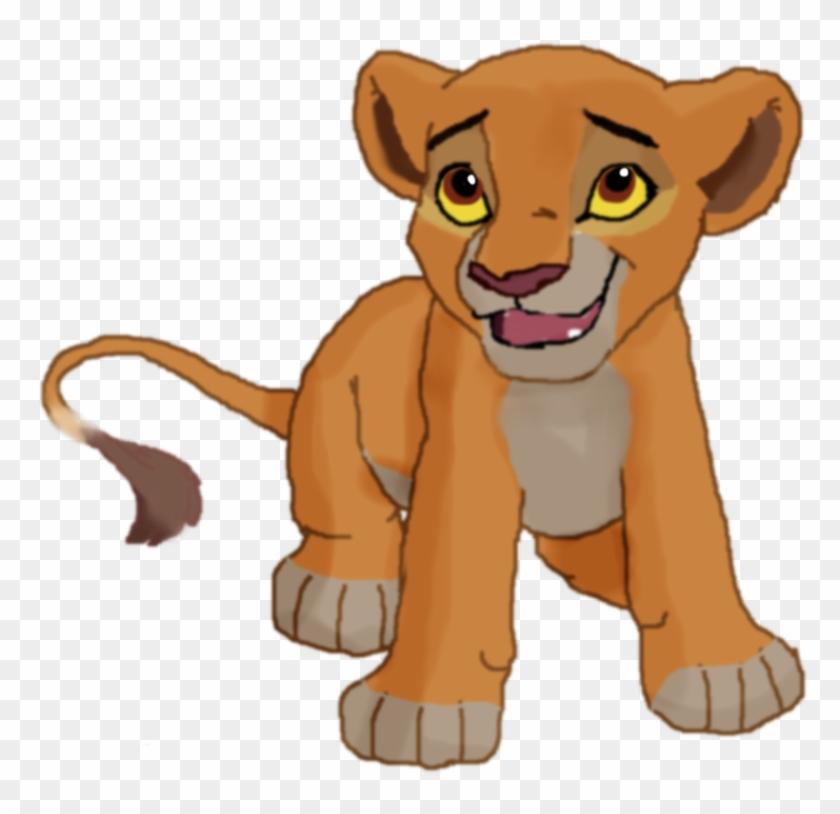 lion guard simba and kiara