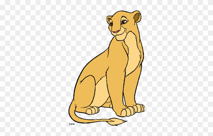 Simba Mufasa And Sarabi Clip Art Lion King Coloring Pages Free
