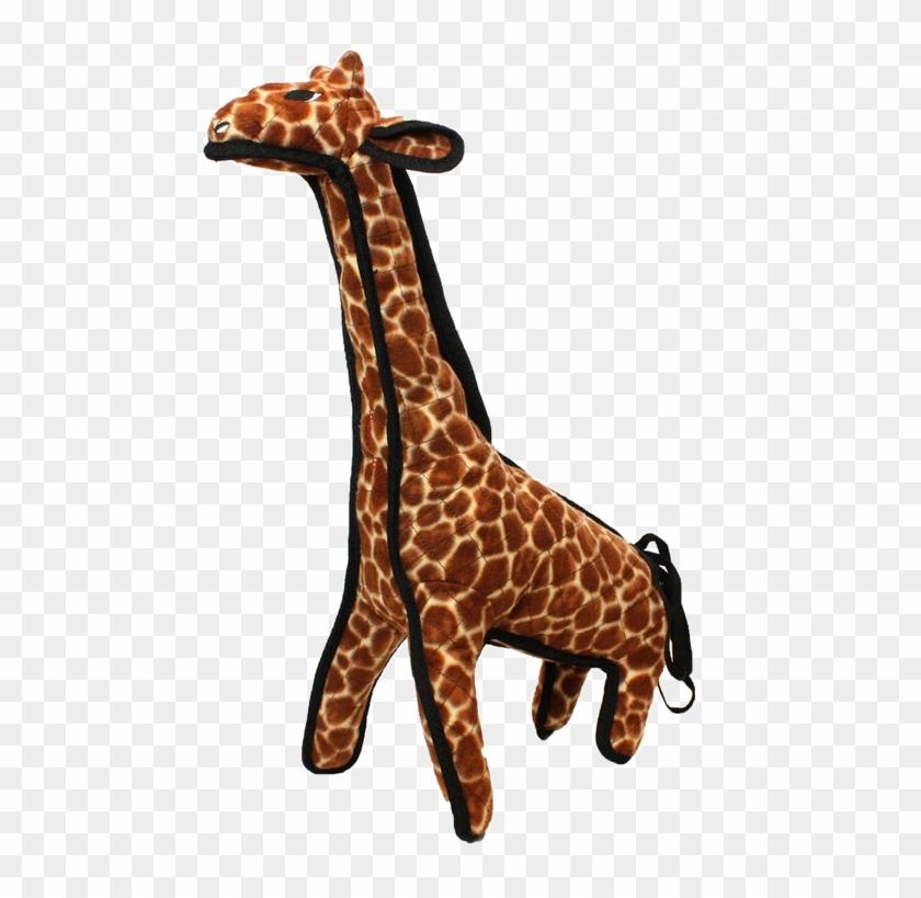 Tuffy Girard Giraffe Zoo Dog Toy #1204772