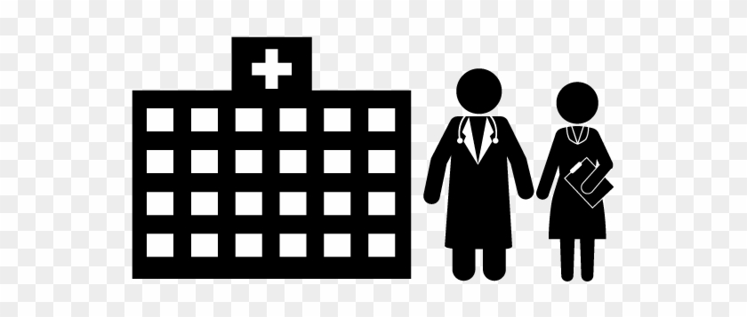 School And Study - Hospital Pictogram - Free Transparent PNG