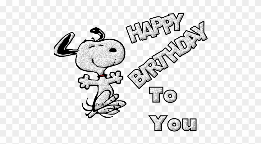 Birthday Snoopy Png