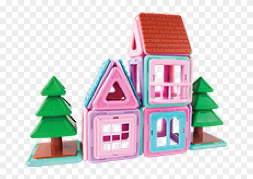 Magformers Mini House Magnetic Construction Set #1205558