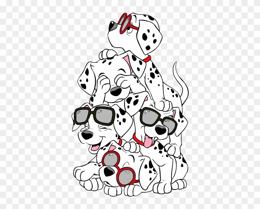 Dalmatian Dog Cruella De Vil Puppy The 101 Dalmatians - 101 Dalmatas #1205579