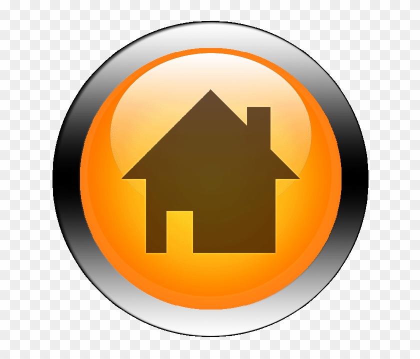 coroflot home button icon orange free transparent png clipart images download coroflot home button icon orange