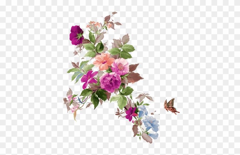 Tubes Fleurs - Mother's Day - Mother - Vintage Style Floral Card #1205850
