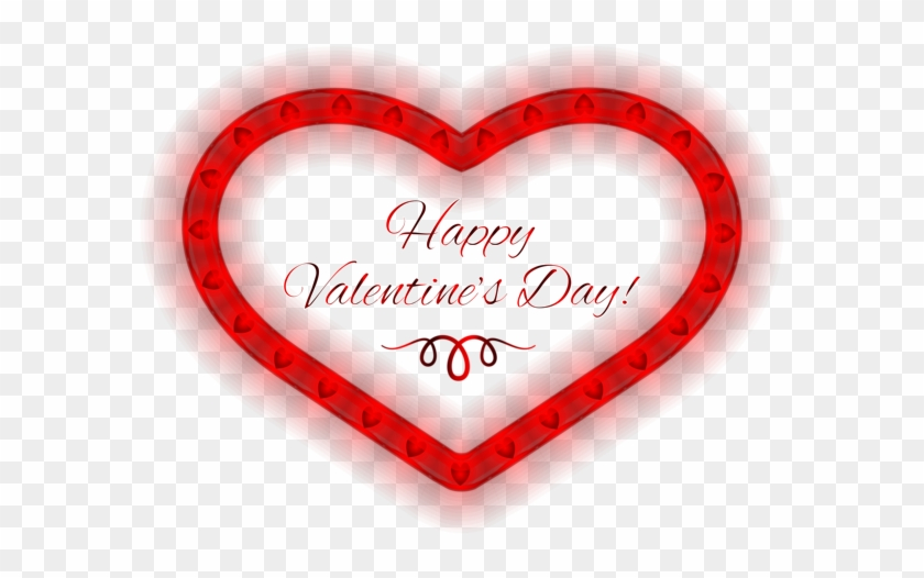 Happy Valentines Day Heart Png Clipart Image - Happy Valentines Day Heart #1207482
