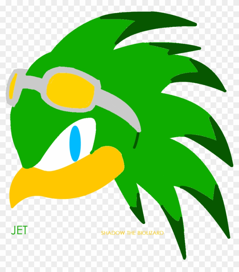 Jet The Hawk By Shadowthebiolizard Jet The Hawk By Sonic The Hedgehog Jet The Hawk Free Transparent Png Clipart Images Download