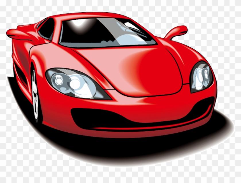 Sports Car Vector Motors Corporation Clip Art Carro Vermelho Ideal