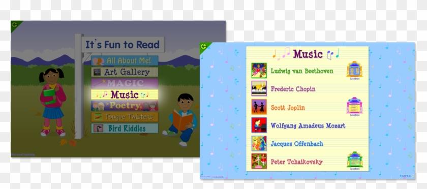Starfall Learn To Read With Phonics Learn Mathematics - Starfall It's Fun To Read #1208087