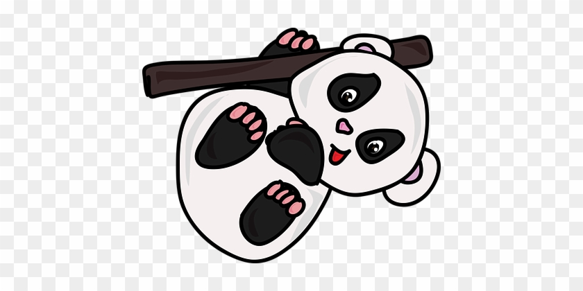 Cartoon Zoo Panda Cute White Black Gambar Kartun Panda Lucu Free Transparent Png Clipart Images Download