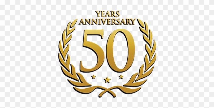 50 Years Anniversary Laurel Wedding 25th Anniversary Logo Png