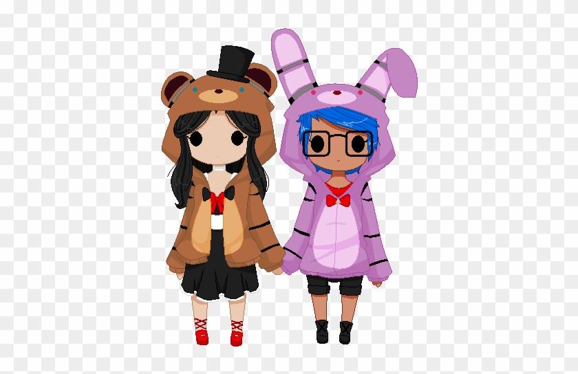 Best Of Anime Cat Girl Wallpaper Fnaf Hoo S By C4pnshota Anime Girl In Fnaf Hoodie Free Transparent Png Clipart Images Download