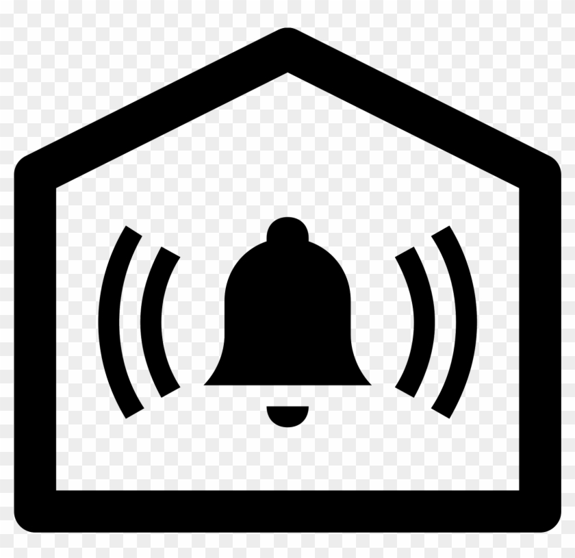Home Alarm Icon - Alarm System Icon Png #1210017