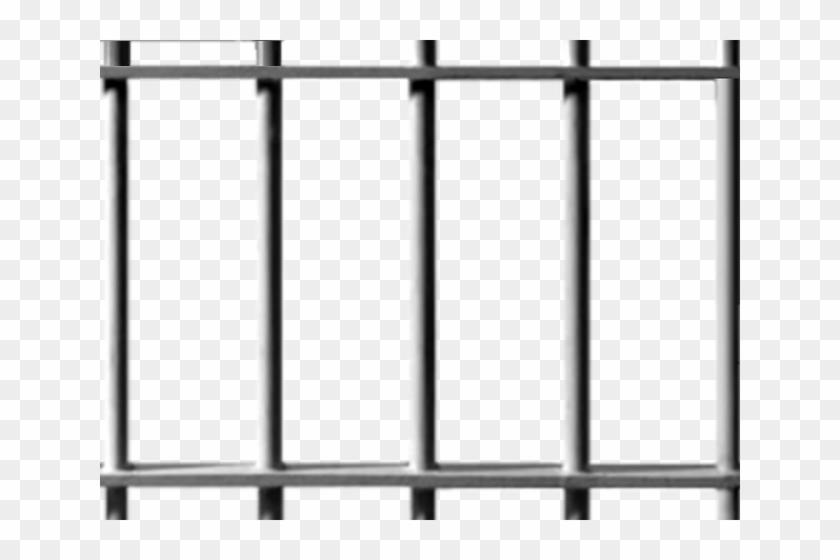 Behind Bars Cliparts - Jail Cell Bars Png #1210063
