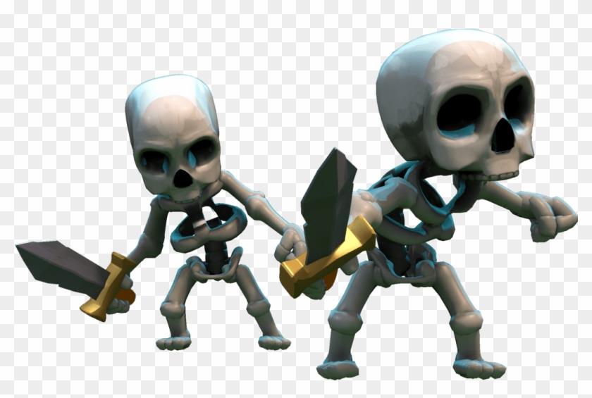 Clash Of Clans Skeletons Esqueletos Do Clash Royale Free