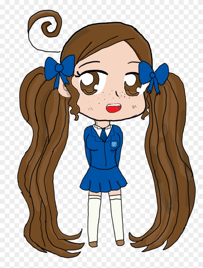Israel Chibi By Arky-chan - Cartoon - Free Transparent PNG Clipart