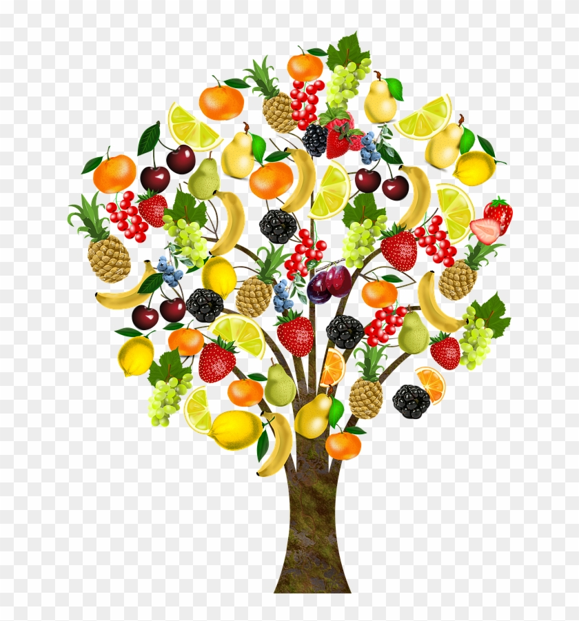 Trees Clipart Free Free Clipart Images - Fruit Tree Clip Art - Free  Transparent PNG Clipart Images Download