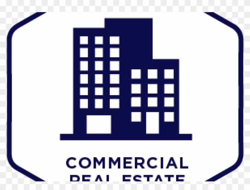 Real Estate Investing Commercial Property Estate Agent - Commercial Real Estate Icon #1212779