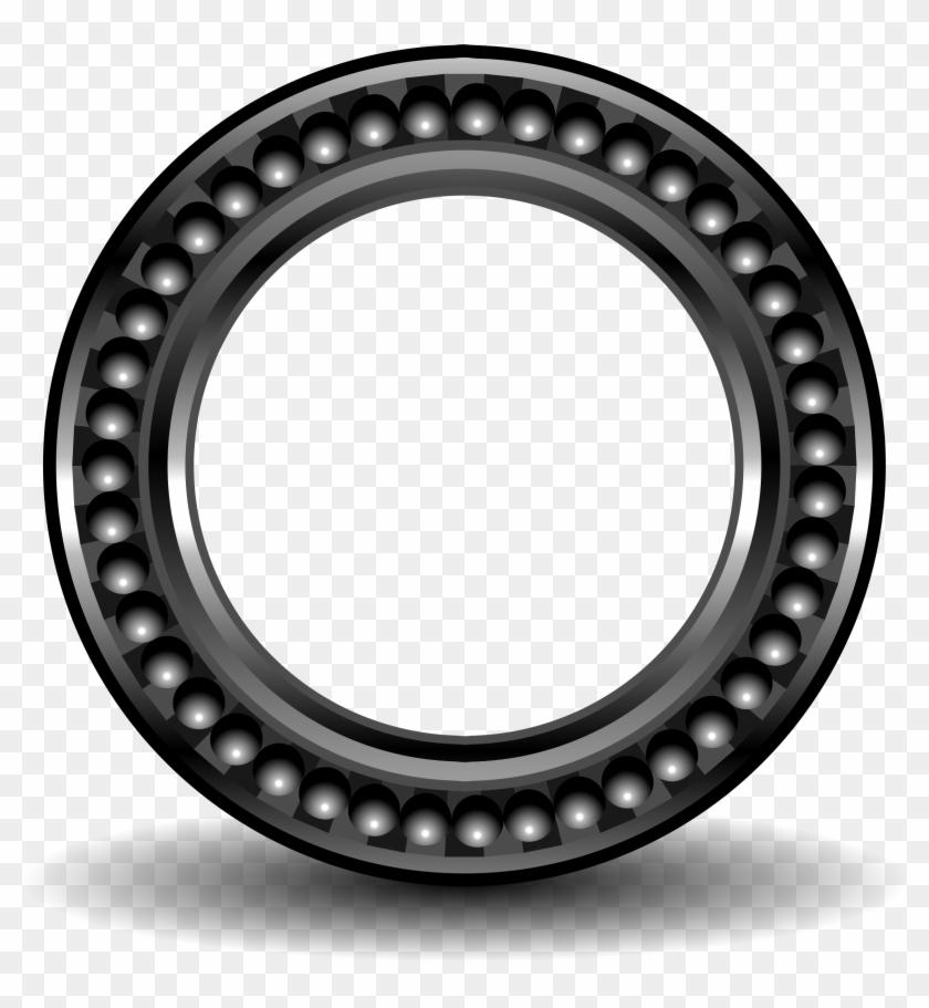 Big Image - Round Frame Metal Png #1213237