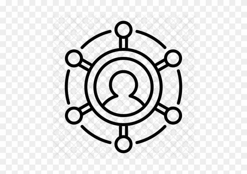 Networking Icon - Control Ship Icon #1213892