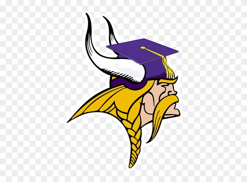 Class Of 2018 Graduation - Minnesota Vikings Clipart - Free