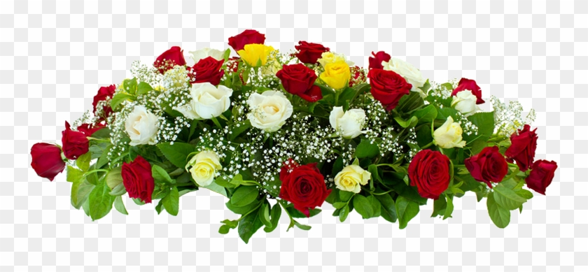 Mixed Rose Flower Arrangement Flowers For Funeral Png Free