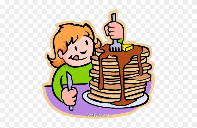 Big Stack Of Pancakes Clip Art - Eat Breakfast Clipart #1216122