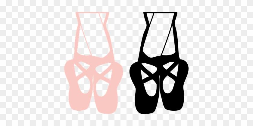 Dance Girl Feet Pink Shoes Ballet Legs Dan - Dance Shoes Clip Art #1216210
