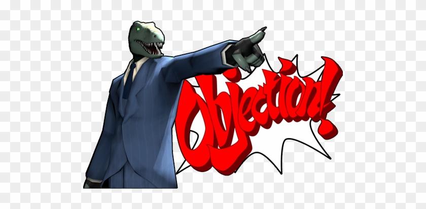 ace attorney objection meme
