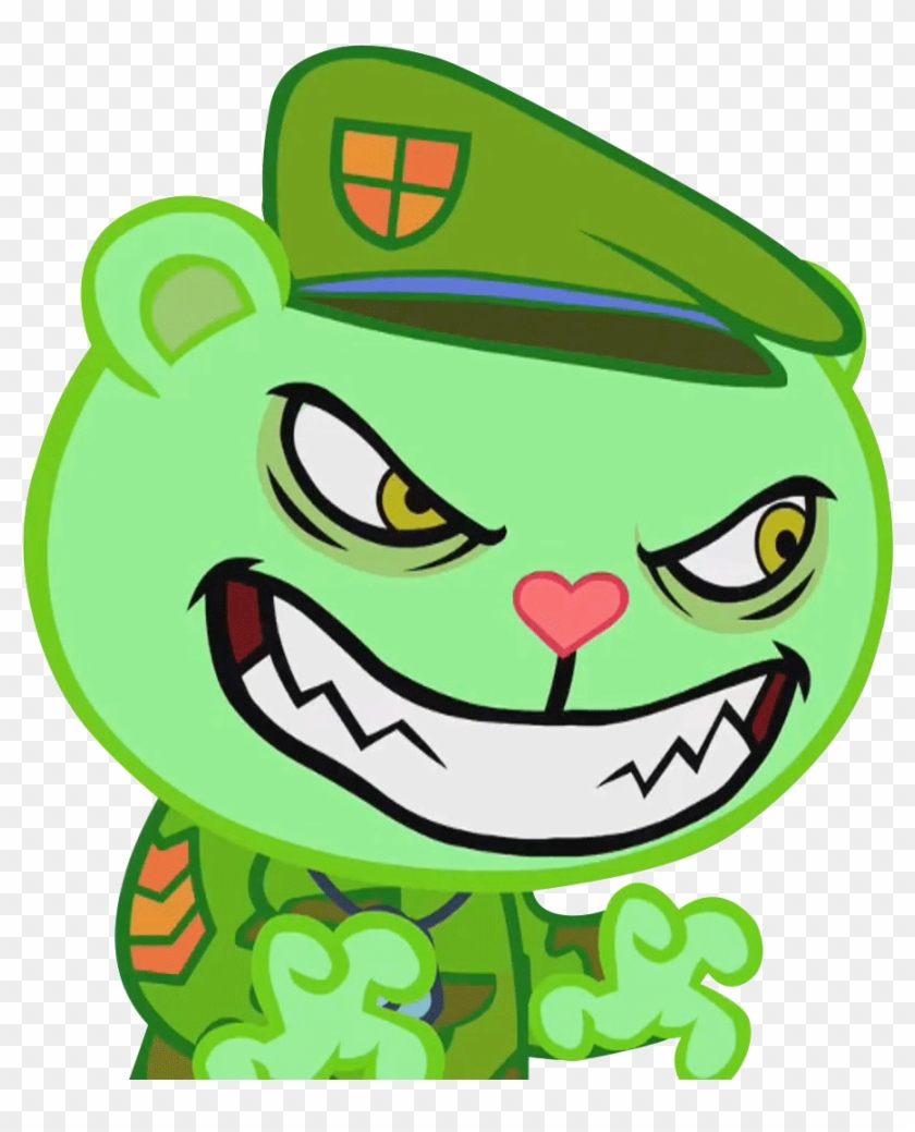 Happy Tree Friends Flippy - Free Transparent PNG Clipart