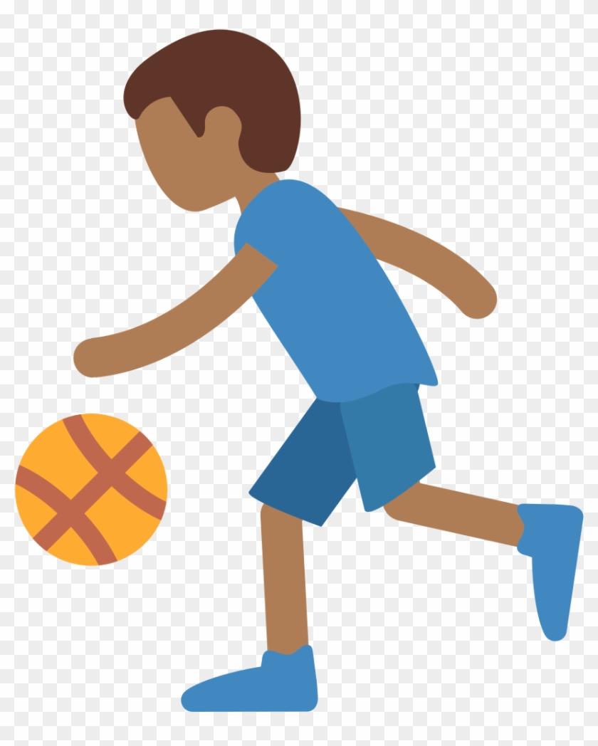 Cartoon Playing Basketball 5, Buy Clip Art - Cartoon Girl Basketball Player #1216584