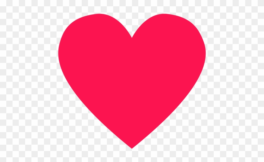 Red Heart Hippie Element Transparent Png - Discord Heart Emoji Png