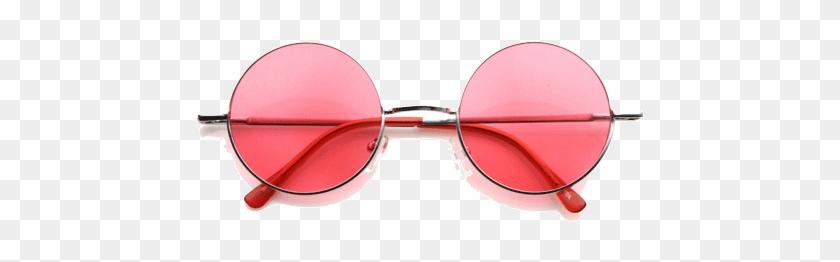Itgirl Shop Round Colors Hippie Sunglasses Aesthetic Zerouv 7133