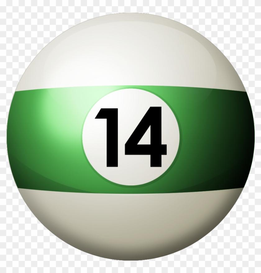 I197 - Photobucket - - Pix/ - No Avatar - Billiards Ball 14 Png #1216878