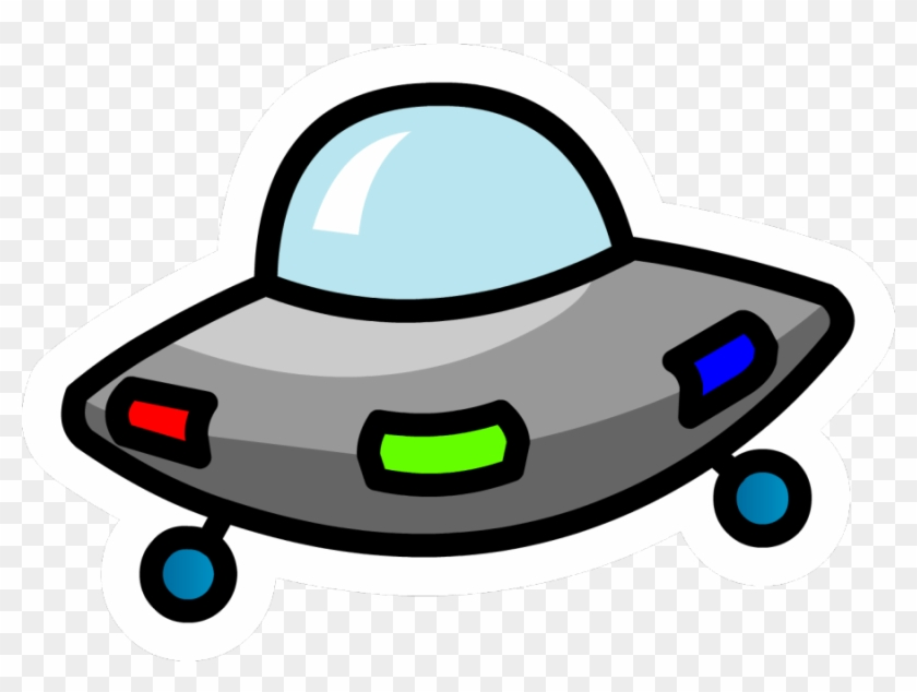 Unidentified Flying Object Flying Saucer Clip Art - Club Penguin Ufo Pin #1217121