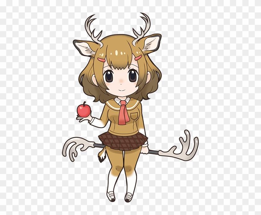 Mule Deer - Kemono Friends Sika Deer #1218878