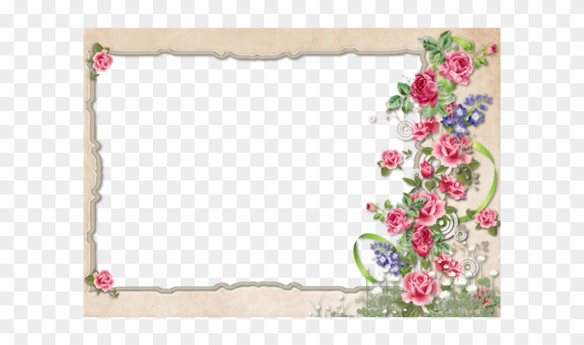Floral Borderborder Designwriting Papers Vintage - Frame Designs Border Designs #1218925
