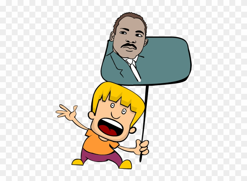 Martin Luther King Jr Clipart Cliparts Of Martin Luther - Martin Luther King Jr. Day #1219012