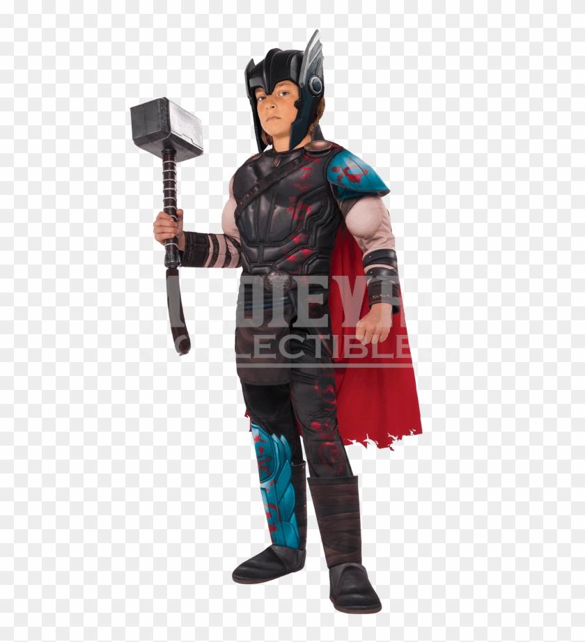 Kids Gladiator Thor Deluxe Costume - Thor Ragnarok Costume Kids #1219325