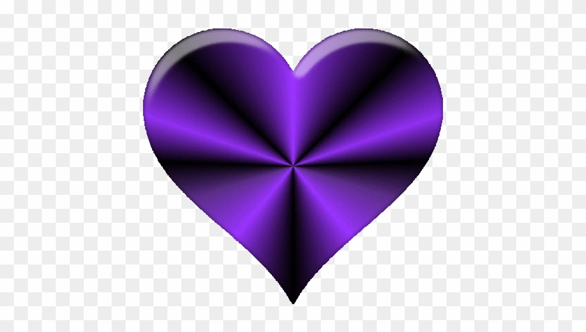 Purple Heart Cliparts - Dark Purple Heart Clip Art - Free
