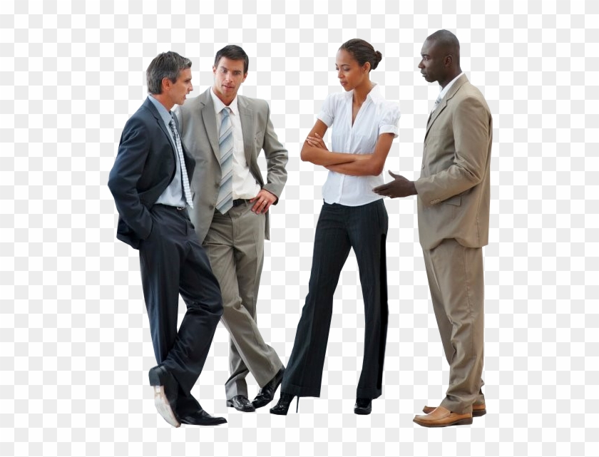 cutout people business business people talking png free