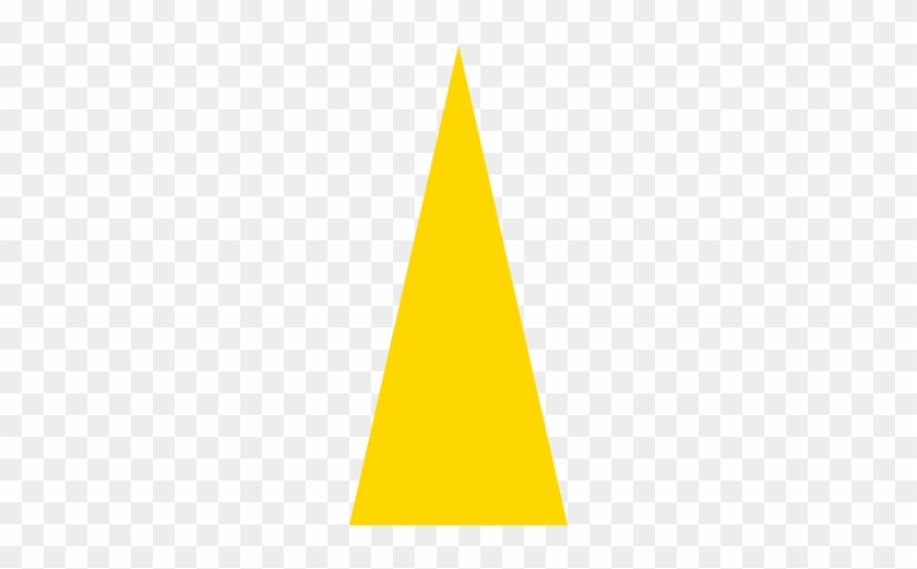 Cornhole Board With Bags- High Triangle Starting At - Yellow Triangle Icon #1221570